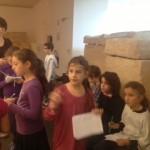 Les CM à la découverte du Musée d'Histoire de Marseille