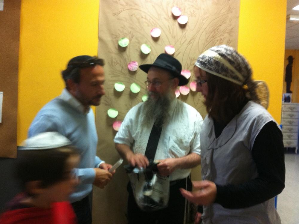 Le Président, le Rabbin et l'enseignante de matières juives