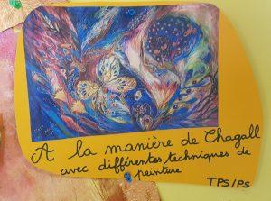 À la manière de Chagall