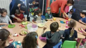 Atelier cuisine salade de fruits ms gs