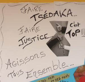 Faire Tsédaka, c'est top !